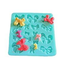 Life Boost Bows Fondant Silicone Mold Sugar Mini Mold Craft Molds DIY Cake Decorating Mould