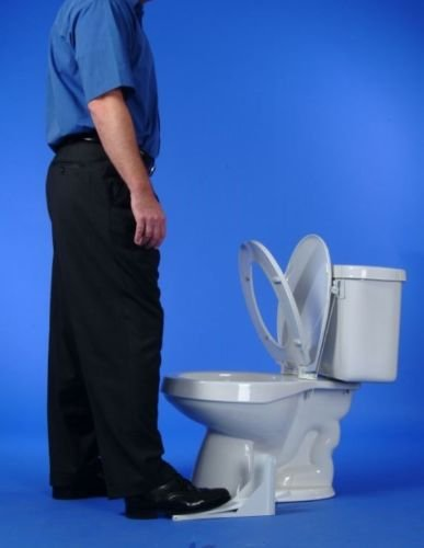 FLIPPER - the most reliable and inexpensive toilet seat lifter by FLIPPER