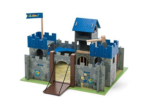 Blue Excalibur Castle (Le Toy Van Castle Playset, Excalibur Castle - Blue)