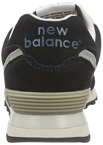 Wl574 Herren Sneakers Black Brown New Schwarz Balance Egq116