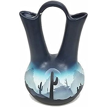 Amazon Mission Del Rey Native American Navajo Wedding Vase