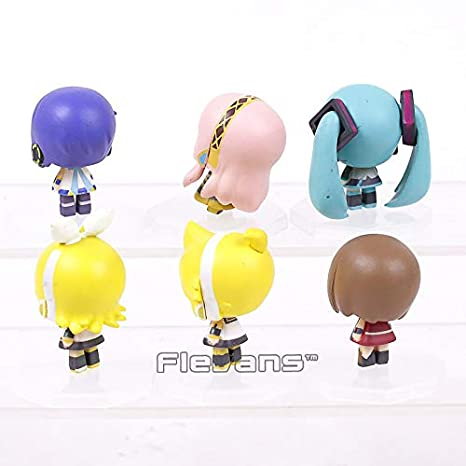 Amazon.com: GrandToyZone Set Figure Series - Hatsune Miku ...