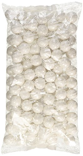 - Sweetworks Gumball Shimmer, White, 2 Pound
