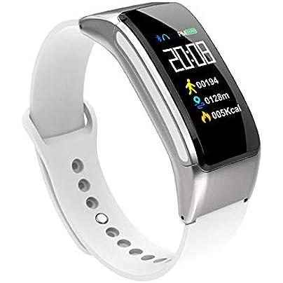 DMMDHR Bluetooth Wireless earphone Talk Smart Wristband heart rate Sport Smart Watch bracelet headset earbuds fit bit for xiaomi for huawei Estimated Price £85.00 -