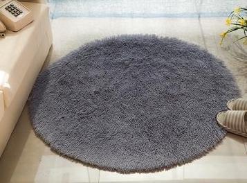 xxl Chambre ¨¤ coucher moderne salon table basse couverture plancher anti-d¨¦rapant tapis paillassons ¨¤ c?t¨¦ du lit rond tapis , 3