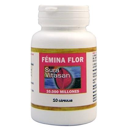 SURA VITASAN - CAP. FEMINA FLOR 10CAP SURAVIT: Amazon.es: Salud y cuidado personal