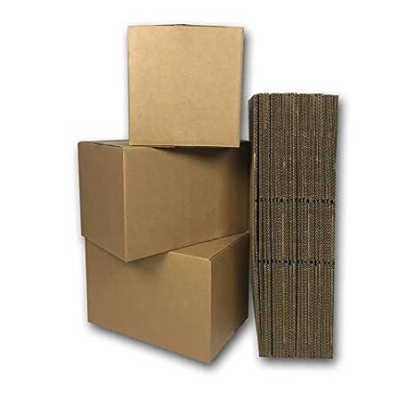 Amazon.com: uboxes pequeñas cajas de Mudanza (25 Pack ...