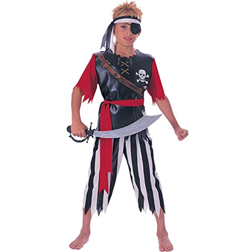 Boys Pirate King Costume (M -