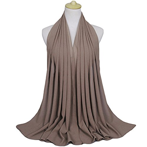 Women Casual Chiffon Long Scarf Anti-uv Muslim Hijab Arab Wrap Shawl Headwear