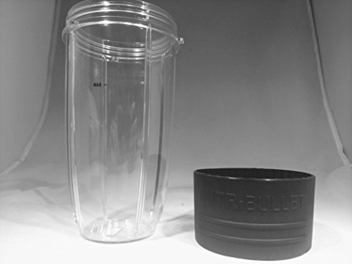 Nutribullet Prime 32 ounce Colossal Cup with Vessel Grip replacement part compatible with 600 W, 900 W, Lean model accesories