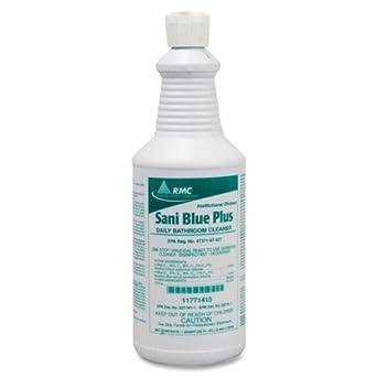 Amazoncom RMC Sani Blue Plus Bathroom Cleaner Liquid Solution - Bathroom cleaner liquid