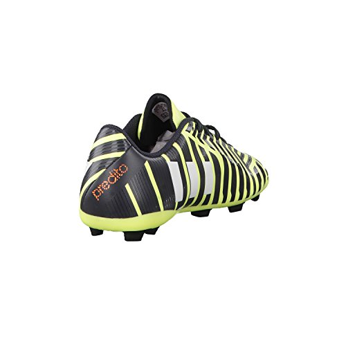 adidas Fussballschuhe Predito FxG J 37 1/3 light flash yellow s15/ftwr white/dark grey