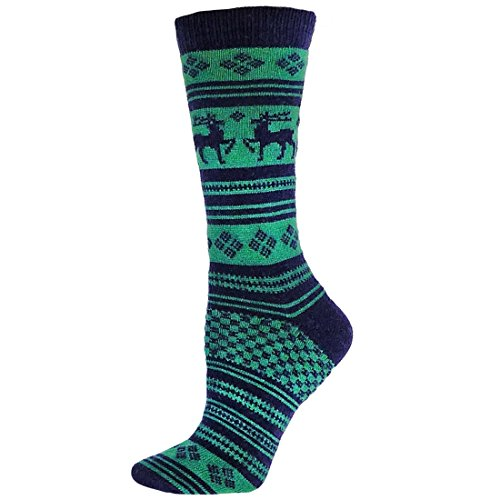 B.ella Women's Dolly Cashmere Blend Socks (Navy)