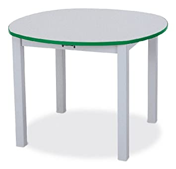 Amazoncom Round Table 24 High Navy School Play Furniture