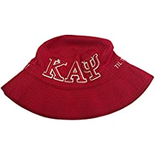 Kappa Alpha Psi G1945XL Embroidered Bucket Hat Red/White 61CM Nupe