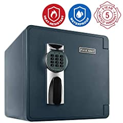 Safeguard your valuables against theft, water, and fire with the First Alert 2092DF Waterproof and Fire-Resistant Digital Safe. This waterproof safe comes equipped with a programmable digital lock that you can program with your own three- to ...