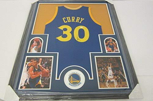 46f207f9e1d Golden State Warriors Autographed Jerseys. Steph Curry Golden State  Warriors Autographed Signed Memorabilia ...
