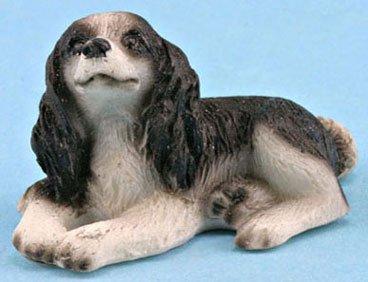 Dollhouse WELSH SPRINGER SPANIEL (Springer Spaniel Dog House)