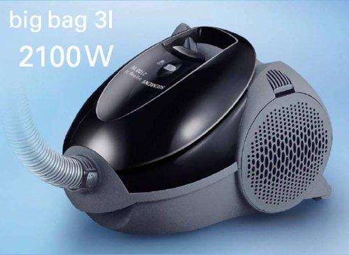 siemens big bag 3l  Siemens VS01E2100 Cylinder vacuum 3L 2100W Black,Grey vacuum ...