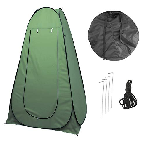 Vinteky Portable Instant POP Up Tent Camping Toilet Shower Changing Single Room Privacy Travel Tent With Bag