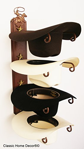 Mark Christopher Collection Cowboy Hat Holder with Cowboy