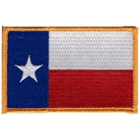 The Flag of TEXAS State Patch parche, Superior