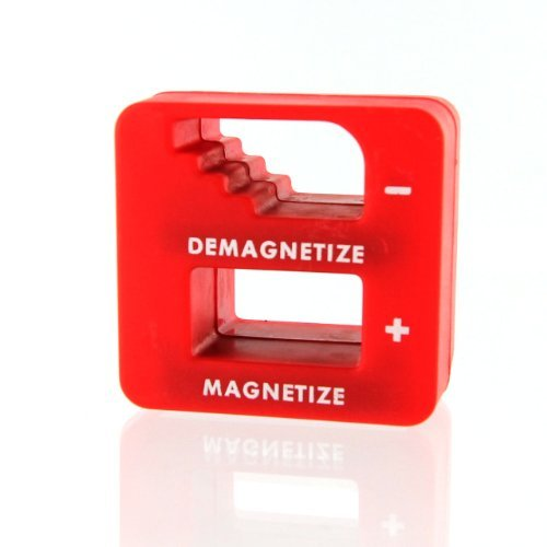 IIT 90262-Red Magnetizer / Demagnetizer Tool - Red