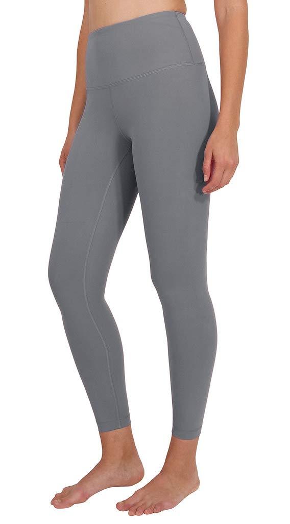 90 Degree By Reflex High Waist Power Flex Legging - Tummy Control - Blue Steel Ankle - XS