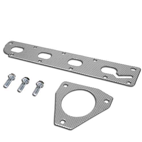 Aluminum Exhaust Manifold Header Gasket Set for 05-10 Chevy Cobalt/HHR 2.2L/2.4L I4 ()