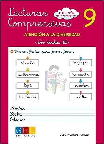 Lecturas comprensivas 9 (Spanish) Paperback – June 1, 2010