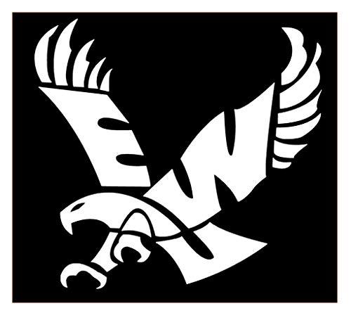 Eagles Eastern Washington University Vinyl Sticker Decals for Car Bumper Window MacBook pro Laptop iPad iPhone (3