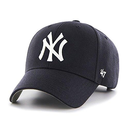 New York Yankees '47 Brand Cap Home MVP Hat Velcro Adjustabl