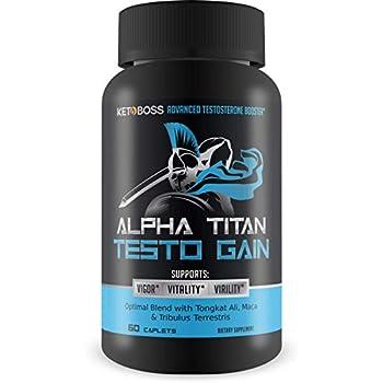 Amazon.com: TestoUltra Alpha Titan TRT - Testosterone Booster - Become The Alpha Male - Support