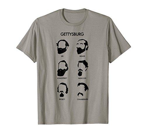 American Civil War Beards of Gettysburg t-shirt