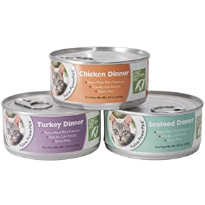 Only Natural Pet Feline PowerPate Turkey 5.5oz 24 Case