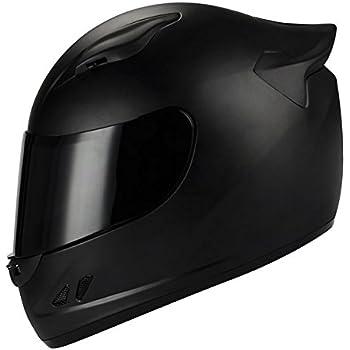 1STORM MOTORCYCLE BIKE FULL FACE HELMET MECHANIC MATT BLACK