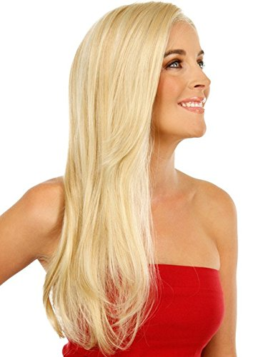 Pancy Blonde #613 Silky Straight Human Hair Lace Wigs Brazilian Virgin Hair Full Lace Human Hair Wig Glueless Lace Front Wigs with Baby Hair (12