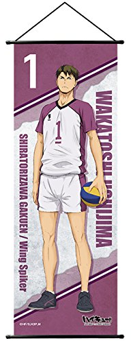 Haikyuu!! Torino High School VS Shiratorizawa High School Slim tapestry Ushijima From Japan New (Official Monster High Costumes)
