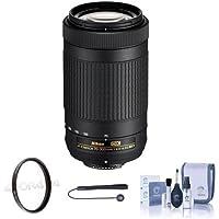Nikon AF-P DX 70-300mm f/4.5-6.3G ED Lens USA Warranty w/Free Accessory Bundle (Filter Kit)