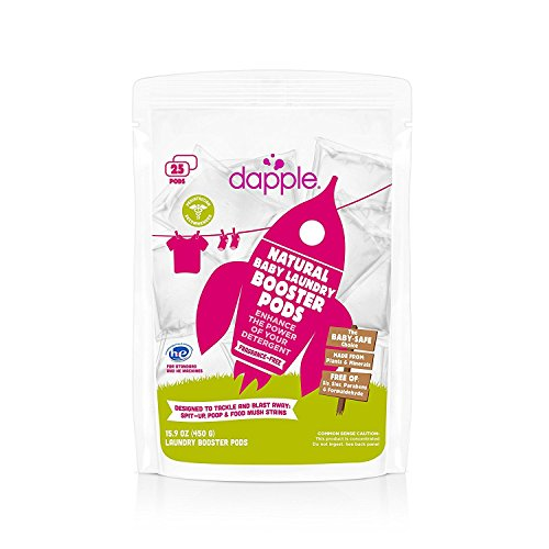 Dapple  Natural Baby Laundry Booster Pods  Fragrance - Bath Pod Baby