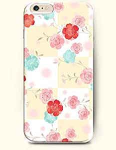 OOFIT Apple iPhone 6 Case 4.7 Inches - Bright Fresh Flowers