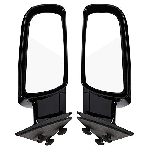 Photo Pair Exterior Mirrors Side View Towing Mirrors Compatible with 1992-1994 Chevy Blazer & 1988-2001 Chevy Truck/GMC Truck, for 1992-1999 Chevy Suburban/ GMC Suburban &1995-1999 Chevy Tahoe/ GMC Yukon