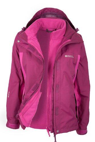 womens 3 in 1 rain jacket - 5