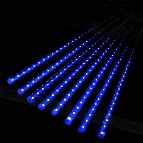 ATNEET 30/50cm 8 Röhren LedLichterkettenWasserdicht Für Baum Weihnachten Hochzeit Dekoration Eu-stecker 220 V 30 cm Blau
