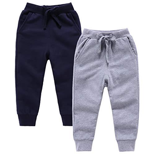 ALALIMINI Sweatpants Elastic Drawstring Trousers product image