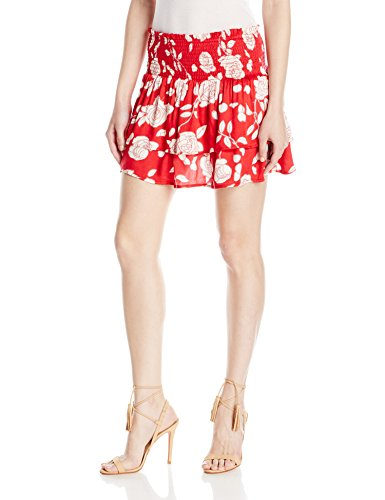 MINKPINK Women's Enchanted Rose Mini Skirt