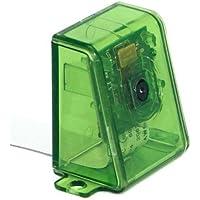 sb components Raspberry Pi Camera Case/Enclosure - Green Transparent Assemble in 30 secs