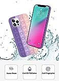 Yagood Pop It Fidget Phone Case - Push Pop It