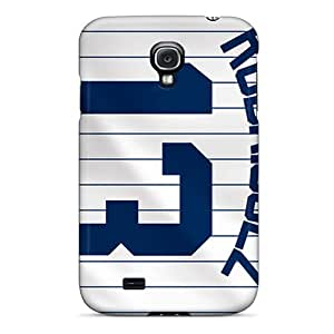 Sihaicovers666 Cases Covers For Galaxy S4 - Retailer Packaging New York Yankees Protective Cases