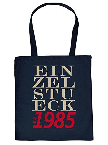Baumwolltasche zum 30. Geburtstag, zu Weihnachten, Ostern: EINZELSTÜCK seit 1985 - von Goodman Design